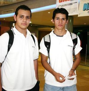 <b>18 de mayo de 2005</b> <p>   Francisco Murillo y Miguel Sánchez.