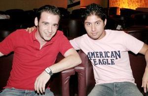 Fernando Silva y Pedro Sánchez.