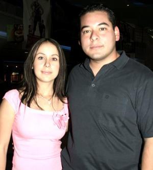 Paola Paz y Manuel Campos.