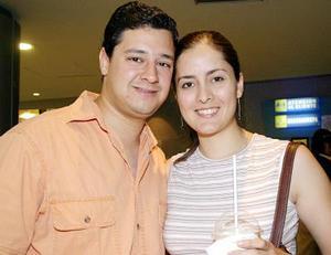 Gabriel Mata y Liliana Valles.