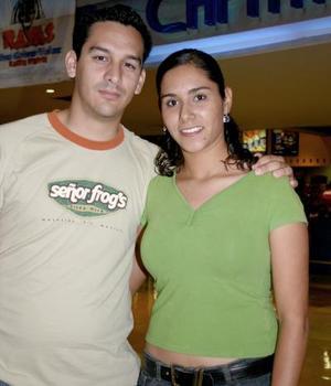 Rogelio Córdova y Ana Lucía Rivera.