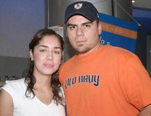 Chuy Ortiz y Ale Segura.