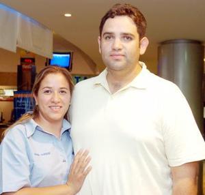 Éricka e Ignacio Stoupignam.