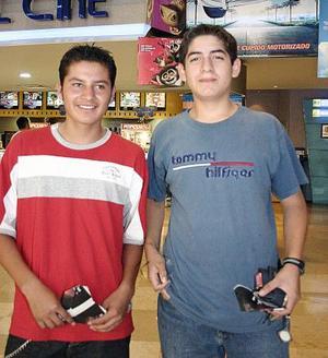 Daniel Esquivel y Guillermo Agüero.
