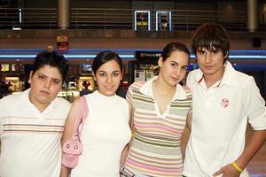 Ricardo Ríos, Fernanda Ríos, Ana Paula Martínez y Carlos Martínez.