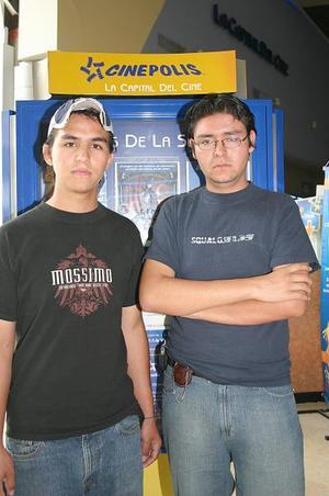 José David y Carlos Muñoz.