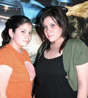 Alicia y Alejandra Olvera.