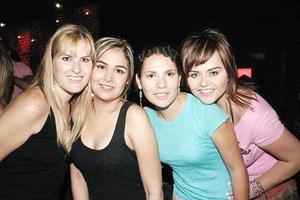 Samantha Cantú, Sonia García, Mariana Padilla y Julia Salazar.