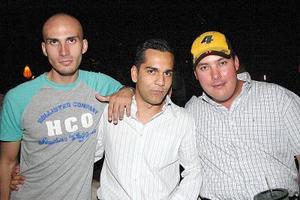 Daniel Nohra, Roberto Ramírez y Édgar Ochoa