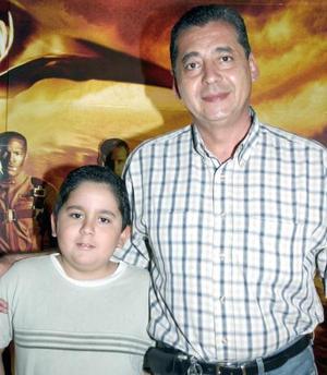 Adalberto y Rodrigo Mascorro.