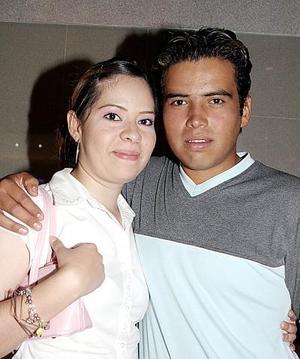 Claudia y Luis Curiel.