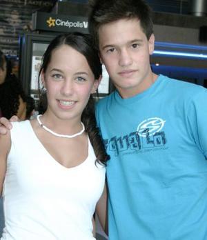 Priscila y Luis Fernando.