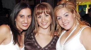 Carmen Moreno, Silvia Platas y Elena Prado.