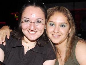 Mariana Cabello y Lizully Rivera.