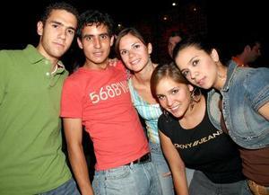 José Ángel Rebollo, Juanjo Fernández, Karla Villa, Katya Nahle y Carmina Fernández