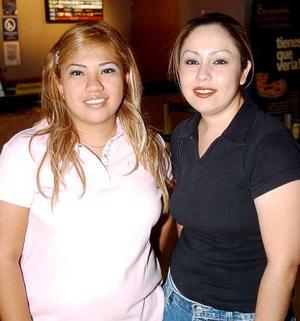 Rocío de León y Marina Rivera.