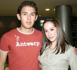 David y Rosario.