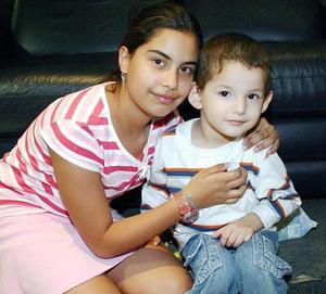 Fernanda Félix y Joel Dávila.