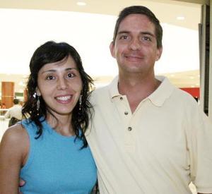Ileana y Ricardo Barriada.