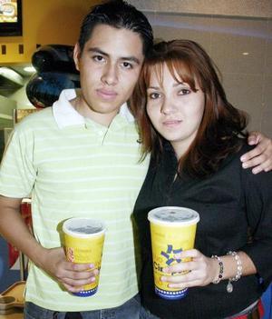 Héctor Favila y Anabel Aguilera Ávila.
