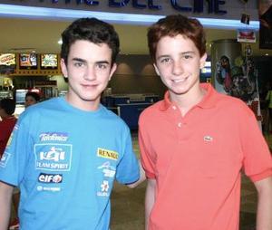 Alan Fernández y Tomás Campuzano.