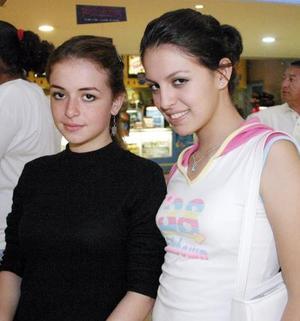 Rosa Cavazos y Dany Rodríguez.