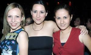Ariana, Grisel y Frida.