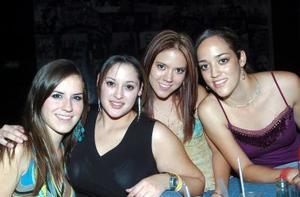Susy Garza, Cecy Verástegui, Pamela Castañeda y Paola Roig.
