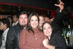 Norma y Cecilia Hernández, Hernan Mier y Rocío Chapa