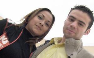 <b>02 de febrero de 2005</b> <p>  Karla  Ángel y Alex Váldez.