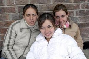 María Fernanda Borbolla, Mariana Algara y Karla Setién