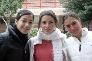 Selina Viesca, Regina Madero y Daniela Murra