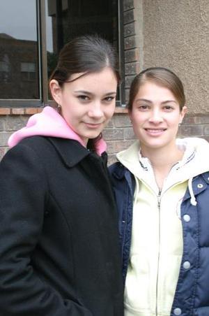 <b> 03 de febrero de 2005</b> <p> Zaide Elena Ramírez y Perla Rodríguez