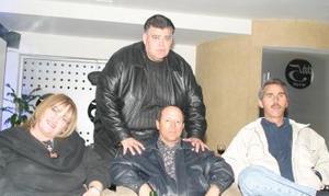Elizabeth  Hamdan, Javier Bustos, Armando Niño de Rivera y Juan  Antonio Murra.