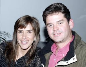 Anabel y Gerardo Gallegos.