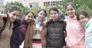 Daniela Sesma, Isabel Soto, Perla Bustamantes, Sheyla palacios y Ana Paula Anaya.