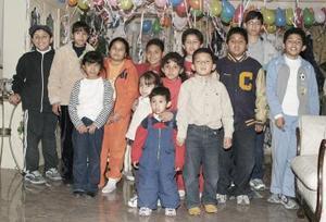 María Fernanda y Miguel Ángel  Álvarez  Murillo, cumplieron 7 años de vida y lo festejaron  con un agradable convivio.