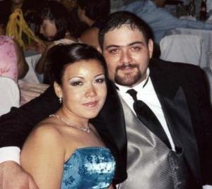 Rebeca Guerrero y Juan Luis Villarreal Elizondo.