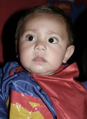 Axel Hernández, captado el día de su piñata.