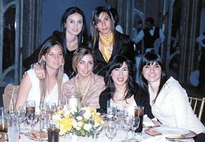 Andrea Bracho, Angelina Siller, Sofía Siller, Mariam Marcos, Valeria Bracho y Valeria Siller.
