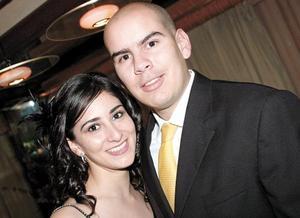 Javier Fernández y Lorena López Amor