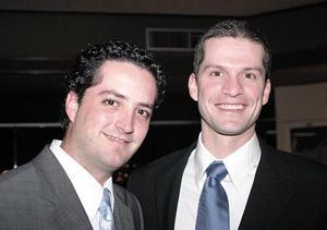 Jorge Milán y Mauricio Mansur