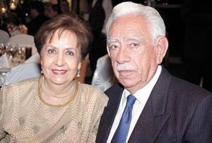 Ricardo Anaya Pinoncelly y Soledad Llamas de Anaya