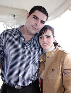 Pedro Ruenes y Zaida Faccuseh