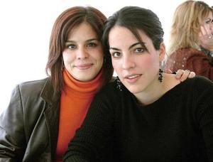 Laurencia González y Marcela  Martínez