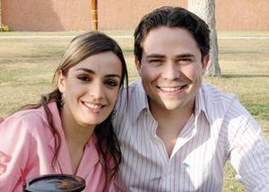 Adriana Agüero y Paco Islas