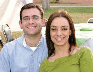 Elizabeth Agüero y Ricardo Soldevilla