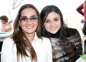 Érika García Mora y Sonia Mansur