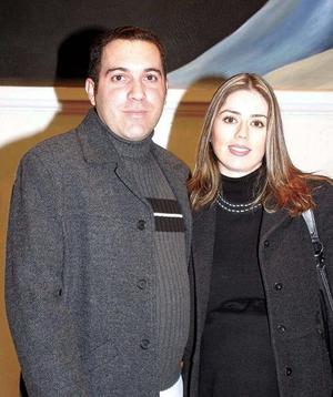 Jaqueline y Alberto Molina.