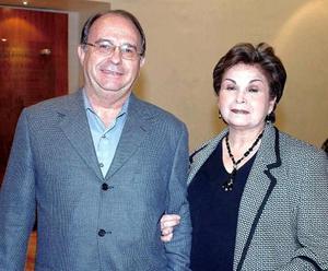 Jose A. Lamberta y Angélica Amarante. de Lamberta.